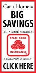Car + Home = Big Savings, Like a good neighbor, State Farm is there